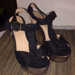 Shoes - 💋HOT Platform Suede Wedges 💋